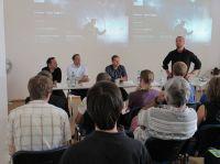 Auf Einladung der MHMK-Studienrichtung Game Design (Studiengang Medien- und Kommunikationsdesign) trafen sich Experten der Spieleb
