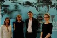 Carmen Jelinek, Carolin Henk (CHANEL), Dominik Pietzcker, Vera Kamm (MHMK-Gastgeber)