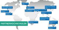 5CU Living Network: Partnerhochschulen weltweit