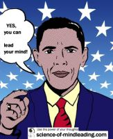 Yes you can lead your mind as you study the science of mindleading! Visit science-of-mindleading.com