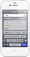 Colorword Thesaurus: easy, comfortable, usual, effortless  - Mit dem iPhone in die bunte Welt der Wörter eintauchen