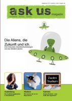 Pünklich zum Schuljahresbeginn in München: das neue Jugendmagazin ask us