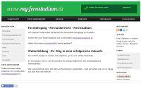 Neues Portal für Fernstudium www.my-fernstudium.de