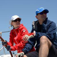 On Boat Coaching unter Segeln auf dem Mittelmeer