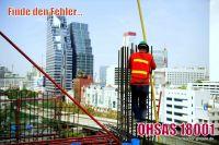Sicherheit im Fokus – OHSAS 18001 Arbeitssicherheit
