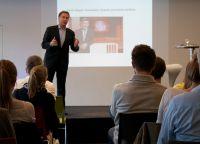 Das Publikum bei der Diskussion mit dem TV-Profi Meyer