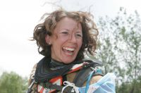 "Tina Meier ""Dran Bleiben"" Paris-Dakar"