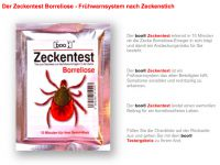 Boo Zeckentest Borreliose für Risiko-Gebiete empfohlen