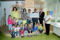 Gemeinnütziger NH-HH Recyclingverein spendet Euro 4.000  für ev. Kindertagesstätte Odenkirchen