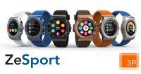 3P bringt erste Multisport GPS Smartwatch von MyKronoz – ZeSport