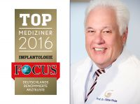 Die Top-Mediziner der Focus-Ärzteliste 2016 im Bereich der Implantologie