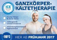 NEU ab April 2017:  Eine der ersten Kältekammern in Bayern jetzt im Raum Augsburg