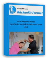 Neue RückenFit-Formel von Apotheker Stephan Wiese, Insel Apotheke, Sylt