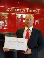 Qualitätsauszeichnung des Deutschen Sauna-Bundes für die RupertusTherme Bad Reichenhall