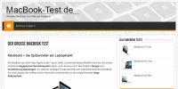 Aktuelle Macbook`s im Test und Vergleich auf macbook-test.de