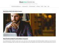 Hilfen für das Schreiben der Bachelorarbeit auf ghostwriter-arbeiten.de