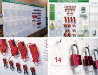 Lockout-Stationen (Shadowboards) nach Lean-Prinzip