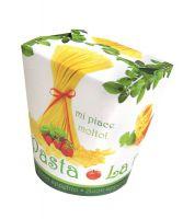 Moderne To Go Verpackungen für Pasta- und Nudelgerichte außer Haus und im Lieferservice
