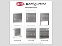 Briefkastenanlagen selbst erstellt dank RENZ – Konfigurator