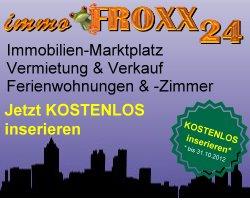 immo.FROXX24 – Immobilien-Anzeigen-Marktplatz inkl. Branchenverzeichnis stellt sich vor