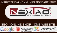 Magento Shop & Joomla CMS von NexTao Marketing & Kommunikationsagentur.