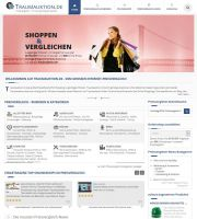 Preisvergleich von Traumauktion.de ist in neuem Gewand mit kostenlosem Webkatalog online