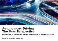 Autonomous Driving: Studie eröffnet neue Perspektiven