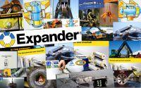 Expander®System Traktor Lenkzylinder Bolzen (Fiat 70-90 Allrad, Deutz, New Holland TN,TL,TS,etc. )