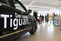 Kath Gruppe stellt neuen Tiguan auf dem Volkswagen Fest vor