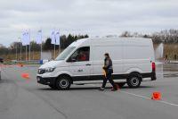 Kath präsentierte neuen Crafter von Volkswagen auf der Fahrsicherheitsanlage des ADAC Schleswig-Holstein e.V.