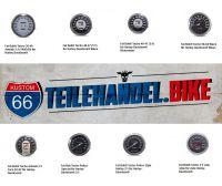 KUSTOM66 bietet Tachometer und Mini-Tachos im Fat Bob® Style für viele Harley-Davidson® Modelle