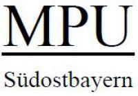 MPU-Südostbayern   MPU-Coaching in der Region Rosenheim, Traunstein und Miesbach