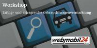 Webmobil24 startet Workshops zur erfolgreichen Gebrauchtwagenvermarktung