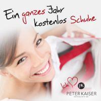 Ein ganzes Jahr kostenlos Schuhe von PETER KAISER