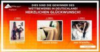 Gewinner des Online-Wettbewerbs #LegfieLove der Faser LYCRA® in Deutschland gekürt