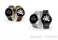 Smartwatch ZeRound Premium von MyKronoz mit Echtleder- oder Metall-Armband