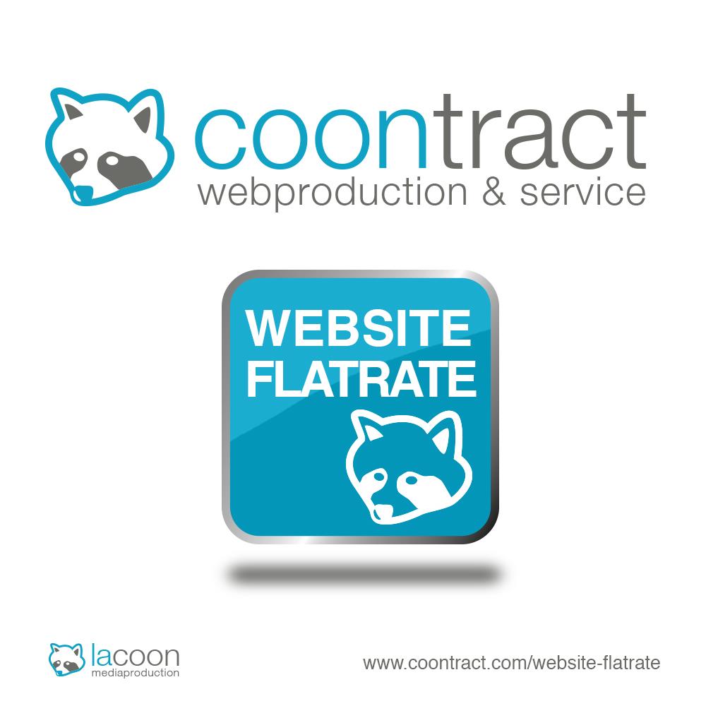 Werbeagentur coontract geht neue Wege mit der Website Flatrate