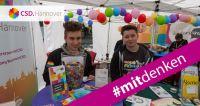 Der CSD Hannover 2017 fördert & fordert #mitdenken für mehr Vielfalt und Toleranz