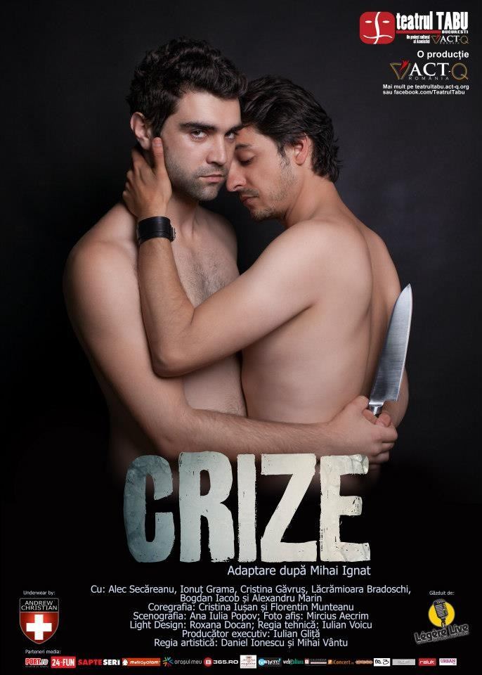"""""""Krisen"""", oder eine alternativ notwendige Inszenierung im bukarester Theater TABU (RO)"""