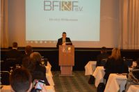 Mitgliederversammlung 2015 des BFI&F e.V., Vorsitzender Patric Weilacher