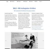 Neue Internetseite für junge Juristen: MkG online
