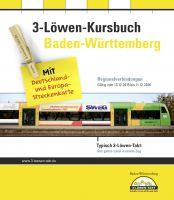 Baden-Württemberg: Unterwegs mit Bus und Bahn – 3-Löwen-Kursbuch zum Fahrplanjahr 2015/2016 erschienen