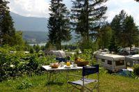 Camping-Auswahl bei Schluga im Südwesten Kärntens