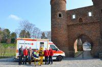 Das Deutsche Rote Kreuz engagiert sich auf der Landesgartenschau Zülpich 2014.