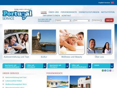 Ferien an der Algarve Portugal erleben in einer Ferienwohnung oder einem Ferienhaus