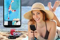 Mit Fußstapfen-Selfie-Karten zur perfekten Urlaubserinnerung 2015: Die STAPPZ App