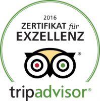"""RupertusTherme Bad Reichenhall mit dem TripAdvisor – Zertifikat für   """"EXZELLENZ 2016″ ausgezeichnet"""