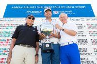 Aegean Airlines Challenge Tour by Hartl Resort: Südafrikaner hält starke deutsche Spieler in Schach