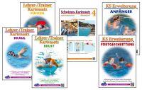 Illustrierte Aufgaben erleichtern den Schwimmunterricht