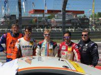 Sieg für Porsche-Pilot Marek Böckmann bei ADAC Zurich 24-Stunden-Rennen